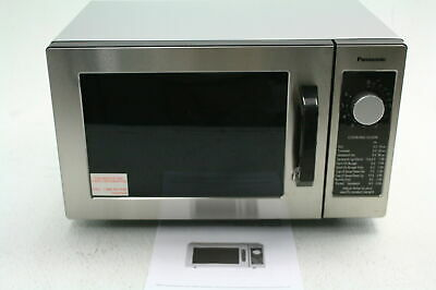 Panasonic NE-1025F Compact Light Countertop Commercial Microwave Oven Silver