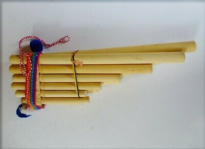 PAN PIPES MADE IN PERU 11 Note 20 cm x 9 cm x 4 cm