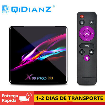 CAJA X88 PRO X3 TV Box Android 9.0 Amlogic S905X3 Quad-core 1080p 8K WIFI BOX