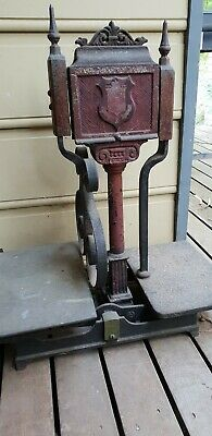Antique scales weights