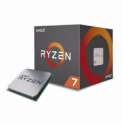 AMD RYZEN 7 2700X 8-Core 3.7GHz 16MB Socket AM4 105W Desktop Processor CPU