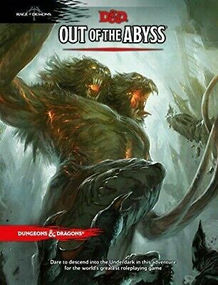 Dragons & Dungeons 5th Edition D&D Next Out of the Abyss Adventure Mint!