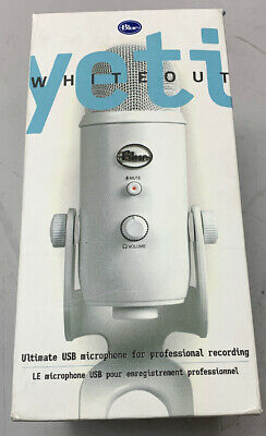 Blue Microphones Yeti USB Microphone - Whiteout (45480 WP)