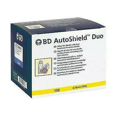 DAMAGED BD Autoshield Duo 0.30mm (30G) x 5mm Pack of 100