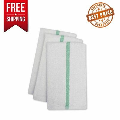 Restaurant Quality Bar Mops Absorbent Durable Cotton Towel 17 x 20 inch 24 Packs