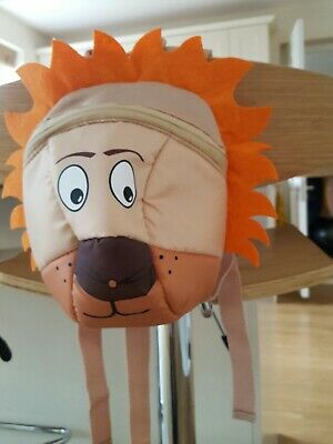 Children's Lion Character backpack Safety Harness Reins.