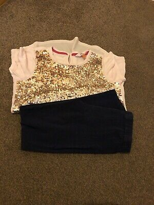 Girls Ted Baker Top And Leggings Outfit Age 9-10