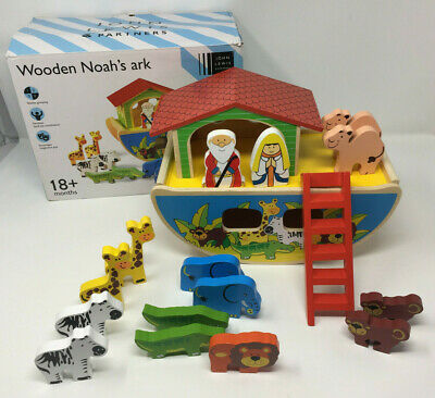 Wooden Noahs Ark By John Lewis - Missing 1 Lioness