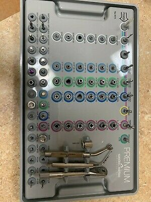 Implant surgical kit. Brand: Sweden and Martina. Used a few times.