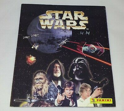 Star Wars : Vintage Panini Sticker Album From 1996 : 100% Complete