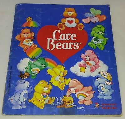 Care Bears : Vintage Panini Sticker Album From 1985 : 100% Complete