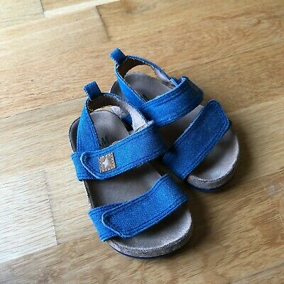 H&M size 20/21 (uk infant ~4/5) blue jean like sandles