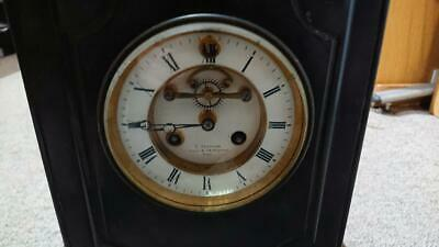 French mantle clock Circa 1860s c Detouche wind up