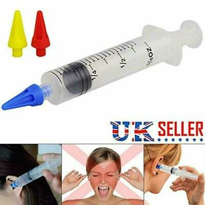 UK Ear Wax Remover Syringe Kit with 3 x Soft Quad-Stream Ear Wax Removal
