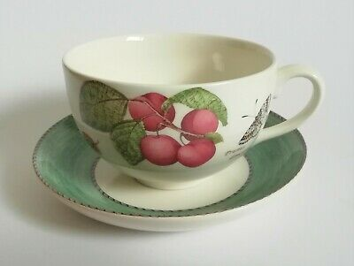 Wedgwood Sarah's Garden Large Breakfast Cup and Saucer - Multiple Available