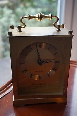 TWO carriage clocks. Battery Powered