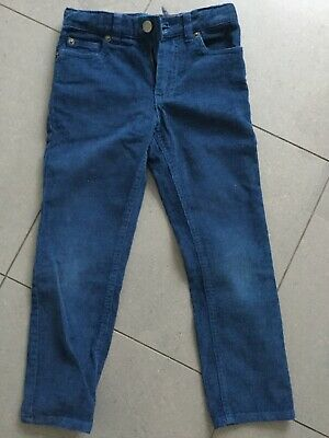 John lewis cord trousers.blue. 6 years