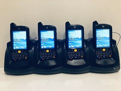 4 x Motorola Symbol MC67 Barcode 2D Scanner Mobile Computer MC67ND/MC65 + Cradle
