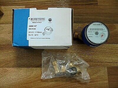 """B Meters 1/2"""" Water Meter GSD8 BRAND NEW AND BOXED."""