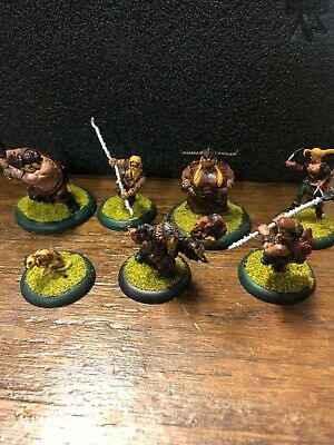 Guildball Used Painted Brewer, Hunters With Case