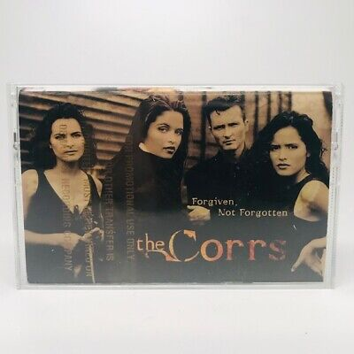 The Corrs Forgiven, Not Forgotten 1995 Cassette Tape