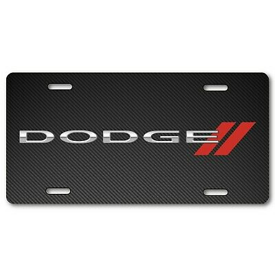Dodge Vehicle License Plate Front Auto Tag Dart Charger Challenger NEW Viper