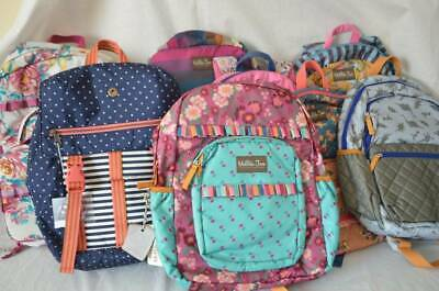 NWT Matilda Jane Clothing Backpacks lunchbox Pack Up Study Buddy All the Homewor