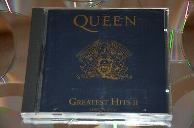 Cd Queen - Greatest Hits Ii 1991 Long Play Cd