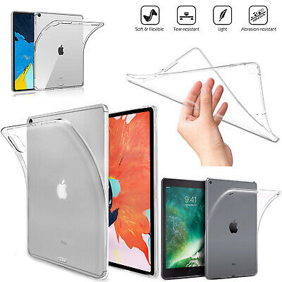 Slim Gel Case For Apple iPad 7 10.2-Inch, 2019 7th Generation Silicone Cover New