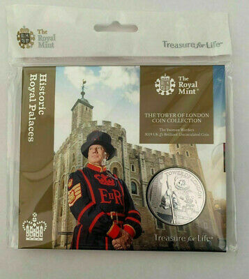 2019 ROYAL MINT yeoman warders £5 The Tower Of London Coin Collection new sealed