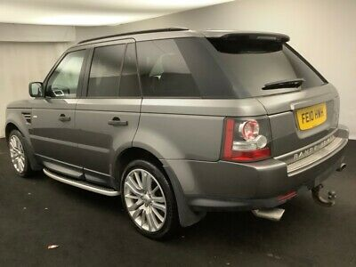 10 Land Rover Range Rover Sport **Cracked Screen, Suspension, & Egr Issue**