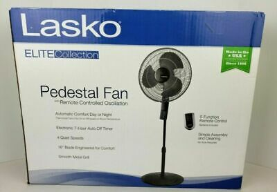 Lasko Elite Collection Pedestal Fan W/Remote