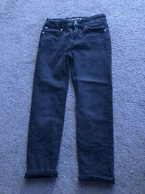 Boys H&M Black Jeans Age 8-9