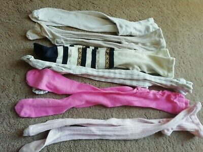 NEXT/ George Girls 6 Pairs of Tights Size 3-4 and 5-6 Years