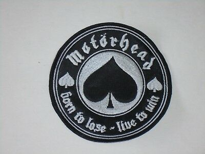 Motorhead Born To Lose Embroidered Patch