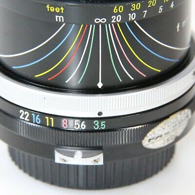 Nikon Zoom-NIKKOR 43mm-86mm Pre-AI Wide Angle Zoom Adapt to Mirrorless (C1389)