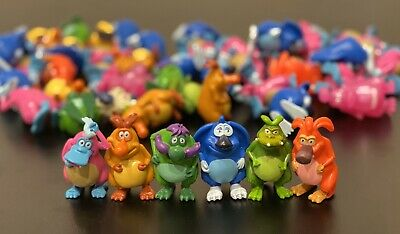 Set Of Yowie Collectables Including Rare Glowing/Complete List Of Characters
