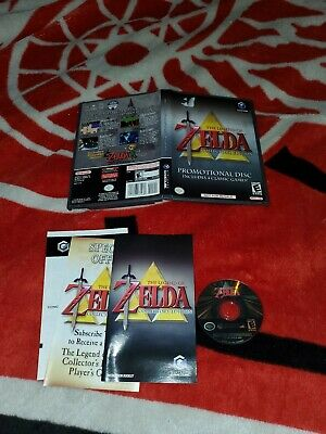 Legend of Zelda Collector's Edition (Nintendo GameCube, 2003) complete cib rare