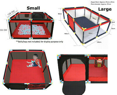 6 Mth - 3 Yr Old Kids Playpen Child Indoor Play Area Toddler Exercise Enclosure