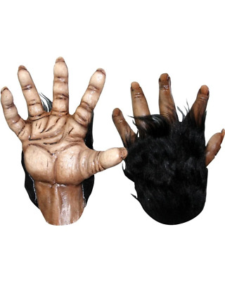 Brown Chimp Hands One Size