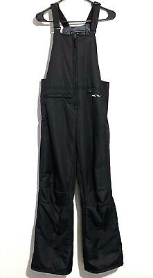 Arctix Youth XL Snowsuit Black Insulated Ski Pants Snowboard Winter Kids Bib
