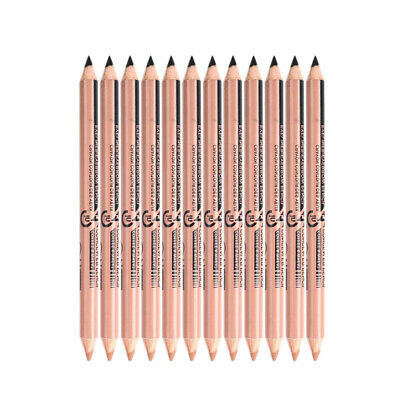 Menow 10Pcs/Lot Double-Ended Waterproof Long Lasting Eyebrow Pencil Cosmeti F3A3