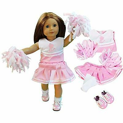 "Dress Along Dolly Cheerleader Doll Outfit for American Girl & 18"" Dolls - 4"
