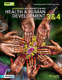NEW Key Concepts in VCE Health and Human Development Units 3&4 6E (PDF VERSION)