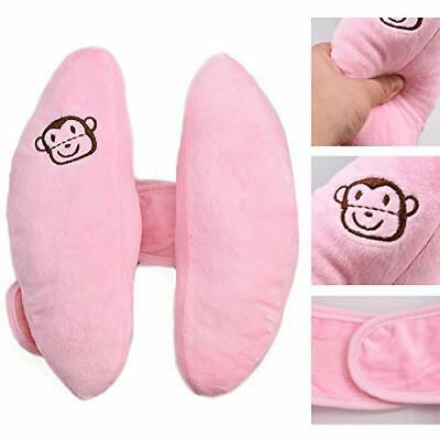 Angzhili Baby Car Seat Head Support Stroller Safety Pillow,Bay Soft Head Pink