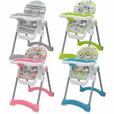 Special Offer Baby Boys Girls Reclining Folding Highchair