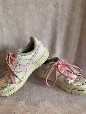 Childs Nike Air Force Trainers Size Uk12