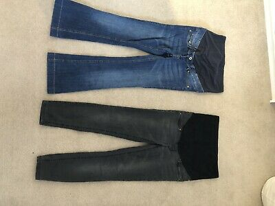 H&m Mama Maternity Jeans Bundle Flare And Skinny