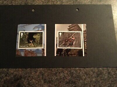 Tomb Raider - Video Games Booklet Stamps - January 2020