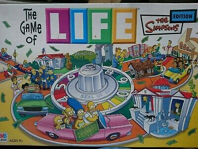The Game Of Life 'The Simpsons' Edition - MB Games
